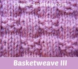 basketweave III