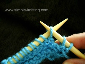 increasing stitches purlwise