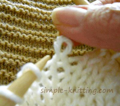 Twisted Stitch