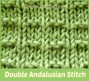 Andalusian pattern variation called Double Andalusian