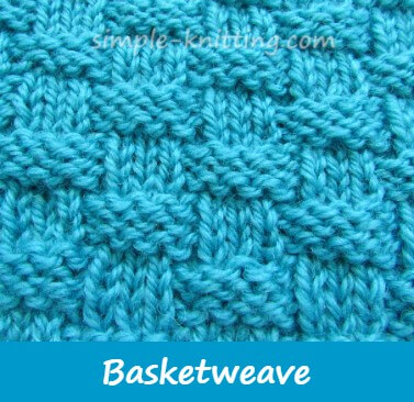 Basketweave Stitch Pattern