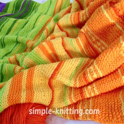 Temperature Blanket 2017 Fun Knitting Project Idea