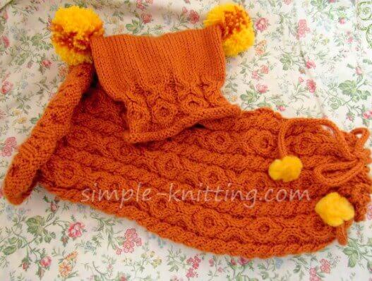 Easy Knitting Patterns - Baby Sleep Sack