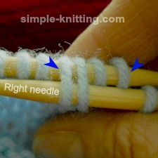 knitting without cable needle