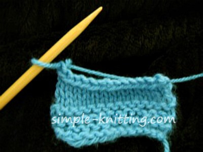 cast off knitting