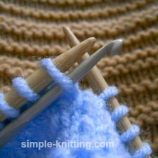 Dropped knit stitch and how to fix it