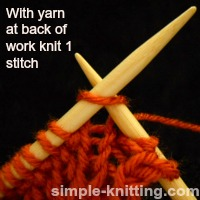 How to knit ribbing