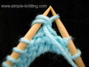 How to knit purl decreases