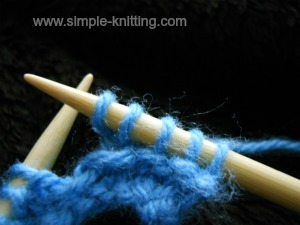How to knit increases