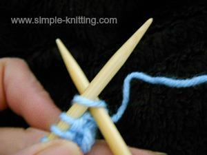 How to knit a stitch