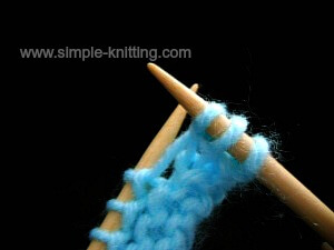 How to make one knitting increase