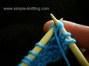 Knitting Increase Stitch Purlwise : Increasing Stitches - How to Knit an Increase Knitwise and Purlwise