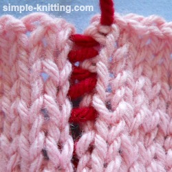 Mattress Stitch - Seaming Technique for Knitting