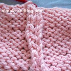 Knitting Joining Seams Mattress Stitch : Mattress Stitch - Seaming Technique for Knitting