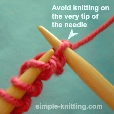 Tips for knitting beginners