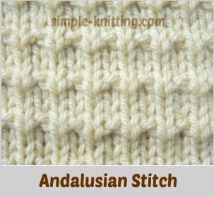 a5d43a0b694e Andalusian Stitch - Simple Pretty Stitch Pattern