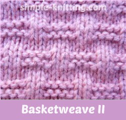 basketweave stitch II
