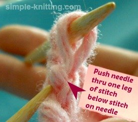 Bind off knitting tips and fixing last loopy stitch