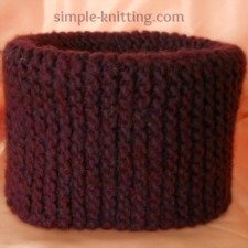 Neckwarmer Pattern