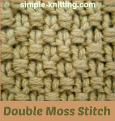 Knitting Moss Stitch How To : Simple Seed Stitch and Moss Stitch with Pretty Stitch Variations