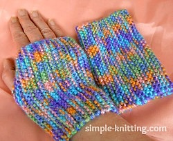 Fingerless Mittens For Beginners