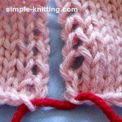 How to seam knitting