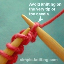 Tips for knitting beginners