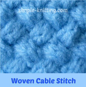 Woven Cable Stitch